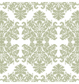 Vintage Imperial Baroque ornament pattern vector image vector image