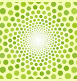abstract green background of small circles vector image vector image