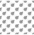 arrow in target pattern seamless vector image vector image