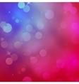 Bokeh defocused lights and stars EPS 10 vector image