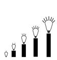 Ideas Graph vector image