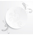 a black and white background vector image