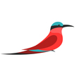 Bee Eater vector image vector image