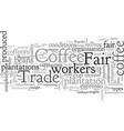 cappuccino a hot cup slavery vector image vector image