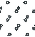 gear pattern flat vector image