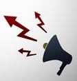 megaphone Stock vector image vector image