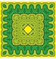 palms border kvadrat 4 380 vector image vector image