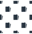 seamless notebook pattern education symbol from vector image