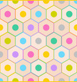 seamless pattern with colorful pencil ends vector image vector image