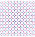 seamless pattern with intersecting curves vector image