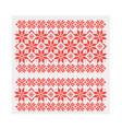 slavic ethnic ornament seamless vector image