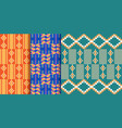 african ethnic seamless pattern geometric design vector image