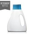 detergent bottle plastic detergent vector image
