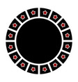 empty label icon vector image