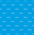 eye glasses pattern seamless blue vector image vector image