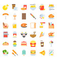 food and drink icon gastronomy concept flat design vector image vector image