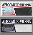 layouts for vienna vector image vector image