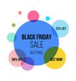 super sale circle banner poster special offer vector image