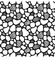 abstract seamless pattern with tiles in different vector image vector image