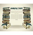 book background vector image vector image