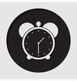 information icon - alarm clock vector image vector image