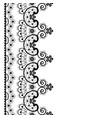 lace seamless pattern retro wedding lace vector image vector image