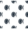 seamless pallet pattern education symbol from vector image vector image