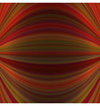 symmetrical motion background from thin curved vector image vector image