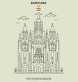 Temple expiatori del sagrat cor in barcelona