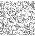 thailand seamless pattern vector image