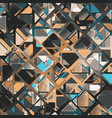 abstract geometric tech eps10 background vector image vector image