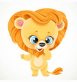 cute cartoon balion isolated on a white vector image vector image