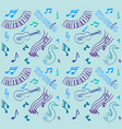 music pattern vector image