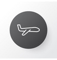 plane icon symbol premium quality isolated air vector image vector image