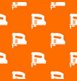 pneumatic gun pattern seamless vector image vector image