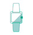 watch draw technology vector image