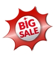 Big Sale shadow vector image