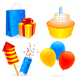 Birthday icons vector | Price: 3 Credits (USD $3)