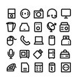 Electronics Icons 7 vector image