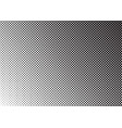 halftone background gradient of dots vector image