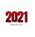 happy new year text white background vector image vector image