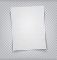 white sheet paper on a transparent background