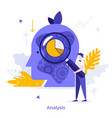 abstract character concept vector image vector image