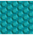 Abstract emerald pattern vector image vector image