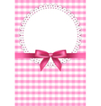 Baby pink napkin background vector | Price: 1 Credit (USD $1)