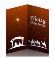 colored manger vector image vector image