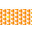 fish seamless pattern on white background vector image