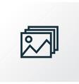 image icon line symbol premium quality isolated vector image vector image
