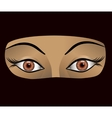 arab woman vector image