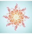 Ethnic sun vector image vector image